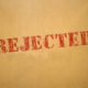 Handling the Rejection